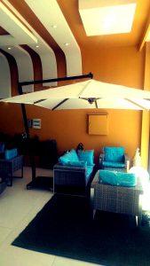 چتر و سایبان پایه از بغل 3در3