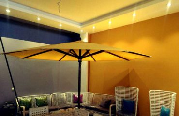 Umbrella and canopy