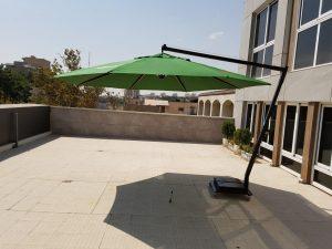 چتر پایه از کنار قطر ۴ متر
