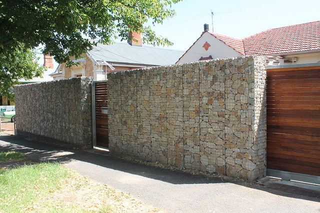 دیوار گابیون